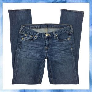 J. Crew Matchstick Straight Leg Denim Jeans